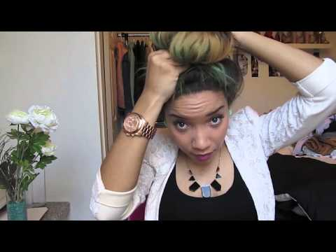HAIR| High Bun with Weave or UPart Wig