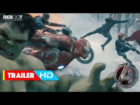 'Avengers: Age Of Ultron' Official Trailer #3 (2015) - Robert Downey Jr., Chris Evans