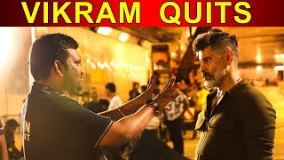 Vikram sad for movie failure