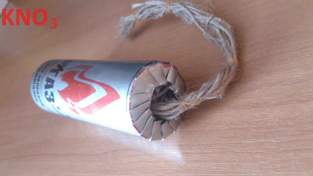Как сделать дымовуху из бумаги из спичек
