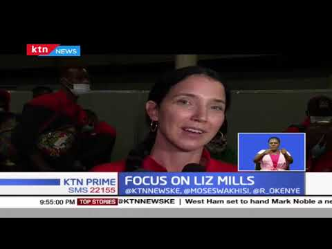 Focus on Liz Mills: Kenya's mens' Basketball coach Liz Mills urges women to seize opportunities : KTN News