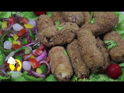Croquettes de viande et pommes de terre - Meatballs and potatoes