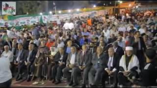 كلمة الدكتور فراس القضاة خلال مهرجان افتتاح مقره الانتخابي في عين جنا