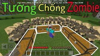 Top 5 Mẹo Bạn Nên Biết Khi Chơi Minecraft - Bức Tường Chống Zombie ???
