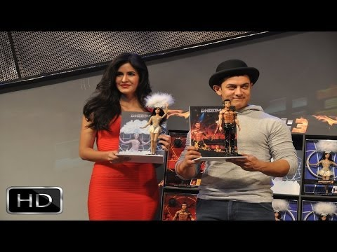 Aamir - Katrina Unveil 'dhoom 3' Merchandise video