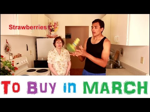 Fruits & Vegetables I Buy in March (Year 2 Episode 8)