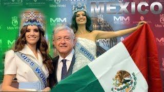 Reunión del Presidente de México con la Mujer Más Hermosa del Mundo