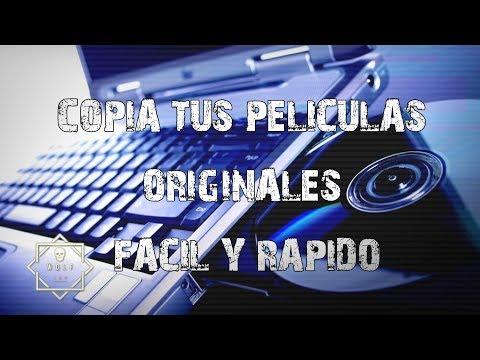 Como copiar un DVD original PROTEGIDO a tu PC   FÁCIL Y RÁPIDO   [DVD-CD]   WOLF   2017
