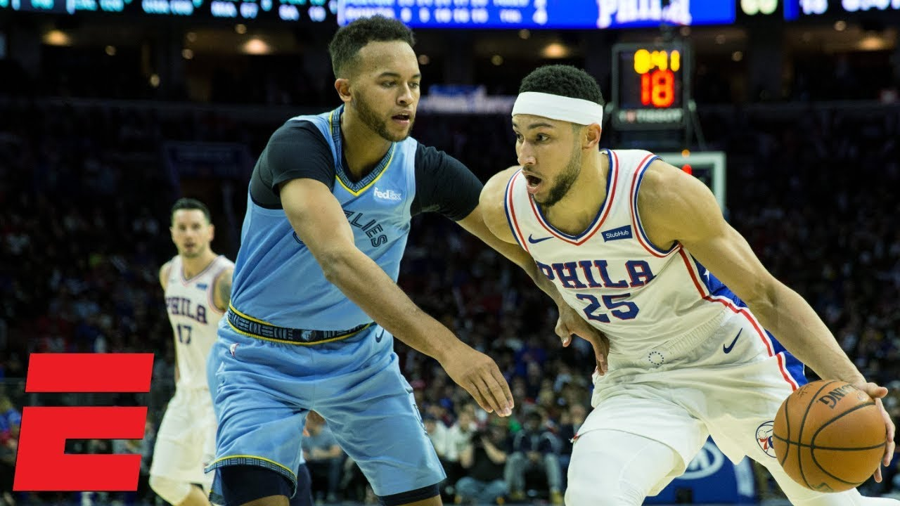 Simmons' double-double fuels 76ers win vs. the Grizzlies   NBA Highlights