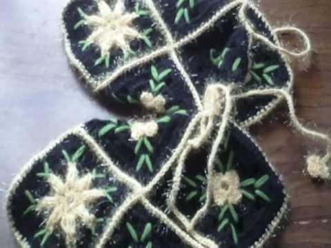 Easy crochet crafts: kitchen bathroom and wear Turkish handi