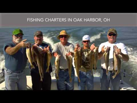 Fishing Charters Oak Harbor OH Coe Vanna Charters & Lodging