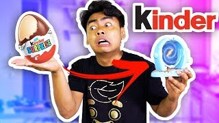 KINDER EGG SURPRISE TOY MAKER?! (Bizarre)