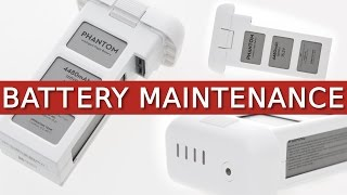 DJI PHANTOM 3 | Battery Maintenance, Storage & Information