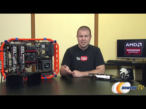 AMD R9 295X2 Quadfire Benchmarks - Newegg TV