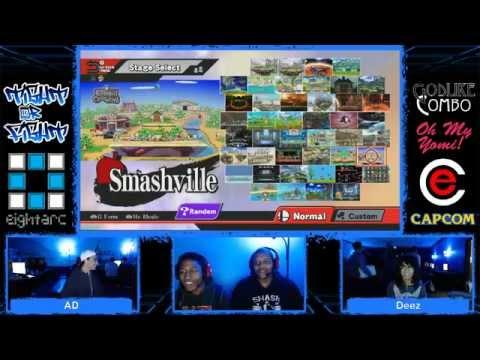 (Ce) Tight or Fight 10 - Super Smash Bros. Wii U Singles Tournament - part 2
