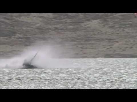 Sebastien Cattelan epic crash Luderitz Speed Challenge 2009
