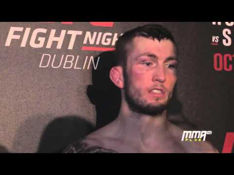 UFC Dublin Post-Fight: Stevie Ray felt 'even sharper' for his Dublin win
