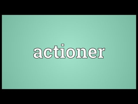 Header of actioner