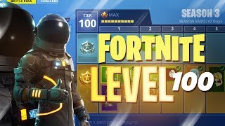 ALL Season 3 Battle Pass Rewards (LEVEL 100!!) - Fortnite: Battle Royale