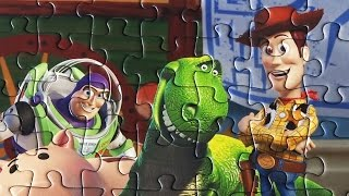TOY STORY Disney Puzzle Games Jigsaw Puzzles Clementoni Rompecabezas Woody Puzzle For Kids