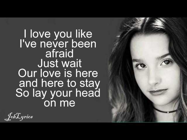 Alex amp Sierra - Little Do You Know Annie LeBlanc amp Hayden Summerall Cover  Lyrics