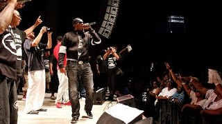 Master P Video - Master P dedicates show to Mike Brown
