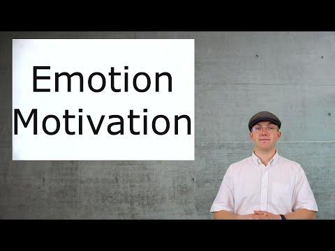 Aufnahmetest Psychologie - Lernvideos: Emotion, Motivation