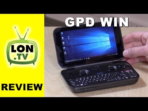 GPD WIN Review - Portable Handheld Windows PC - Gaming. Game Streaming. Emulators