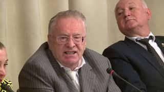 """Жириновский: """"Освещать вопросы национальной политики должны специалисты"""""""