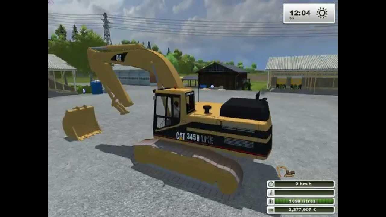 Farming simulator 2013 mods pelleteuse et godet - Pelleteuse simulator gratuit ...