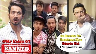 Mr Faisu Banned From #Tiktok - Ajaz Khan's ANGRY Reaction | Tiktok Users Support Mr Faisu