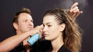 PFW Spring 2015: Backstage with Moroccanoil at Barbara Bui