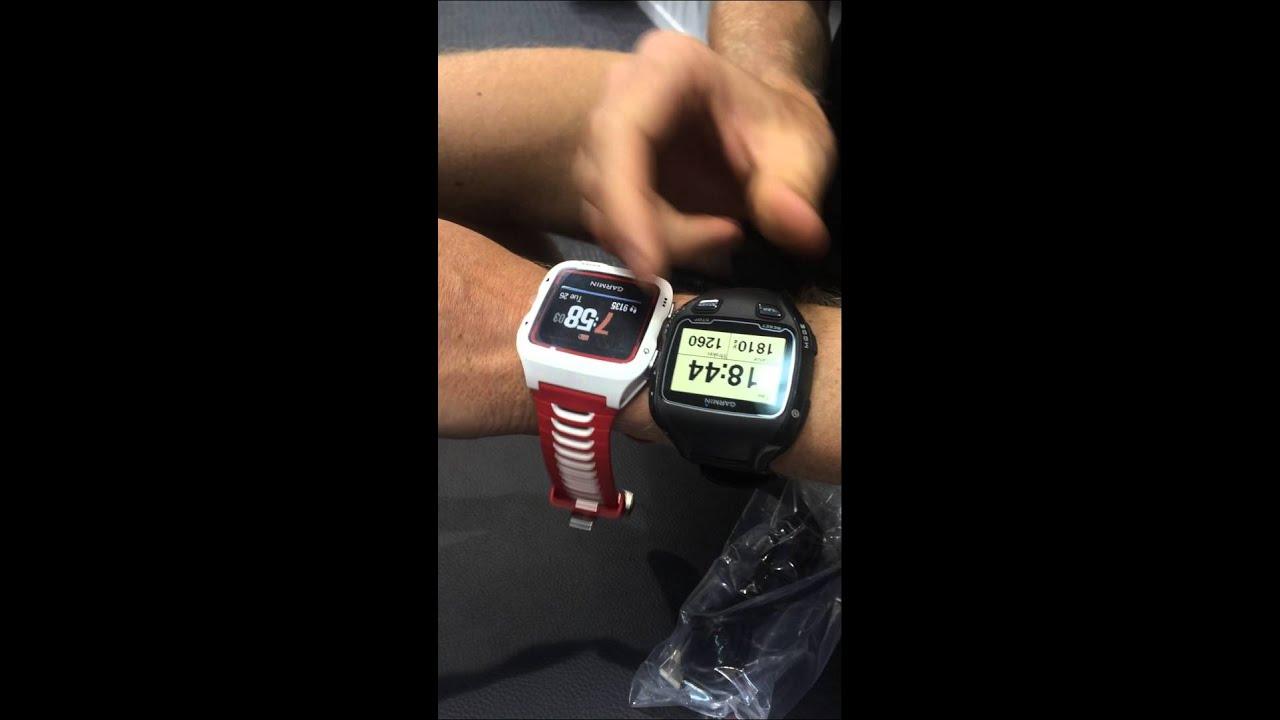 Garmin 920xt triathlon watch review and feature