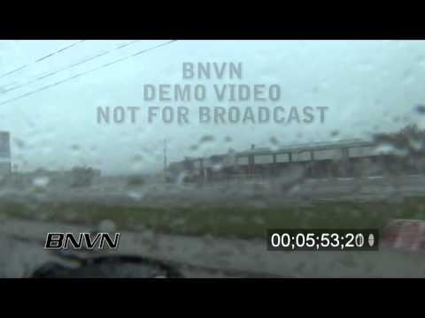 Hurricane Gustav Video, Houma, LA 9/1/2008 - CC 2