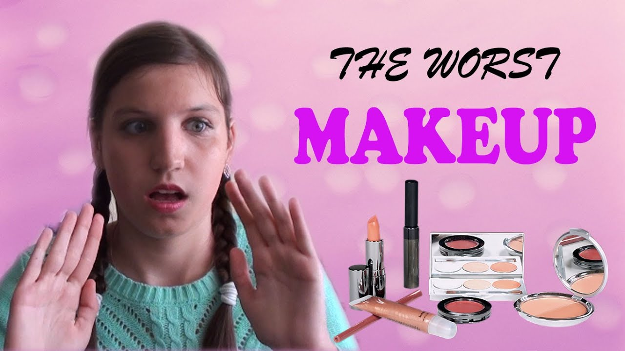 Bad makeup tutorial