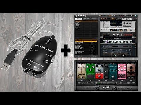 Instalacion Guitar Link + Drivers 64/32 bits + Software