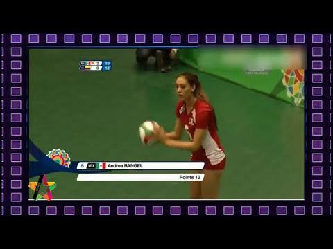 Voleibol México vs Colombia Cuartos de final Juegos Centroamericanos 2014, 18/11/2014  Parte 3