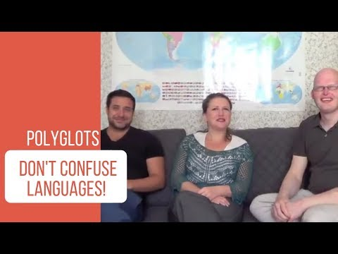How and why polyglots don't confuse languages