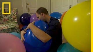 David et sa d�viance des ballons
