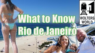 Video of Rio de Janeiro: Visit Rio - What To Know Before You Visit Rio de Janeiro, Brazil (author: Wolters World)