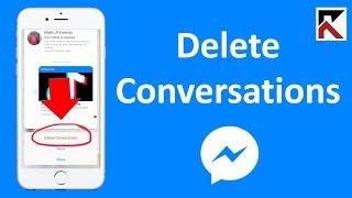 How Do I Delete Conversations In Facebook Messenger