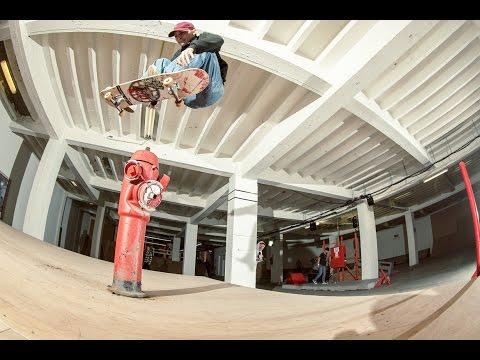 Byrrrh & Skate x Levi's Skateboarding - Brussels, Belgium May 2017
