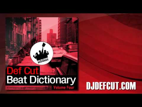 Def Cut - What We Go Through - Beat Dictionary Vol. 4 video