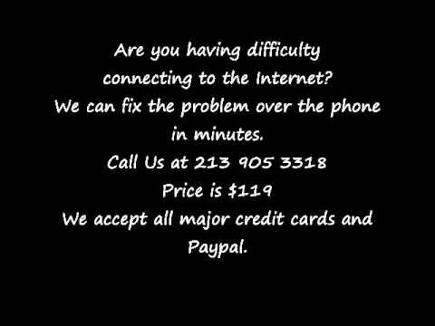 Internet Connection Problem Computer Data Recovery.wmv