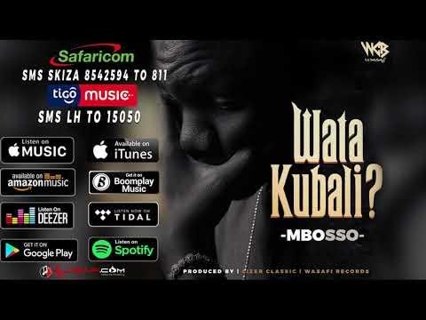 Mbosso -  Watakubali (Official Audio)