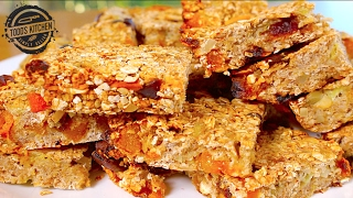 Apricot & Date Oat Bars - Easy Energy Snack