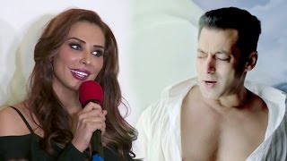 Salman Khan's Girlfriend Lulia Vantur Singing Teri Meri Prem Kahani For Salman From Bodyguard