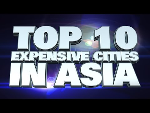 10 most expensive cities in Asia 2014