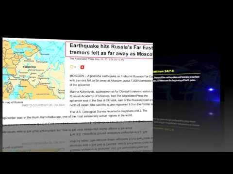 POWERFUL EARTHQUAKE HITS FAR-EAST RUSSIA - PROPHET DR. OWUOR