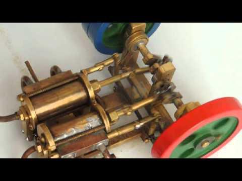 Motor A Vapor Bicilindrico
